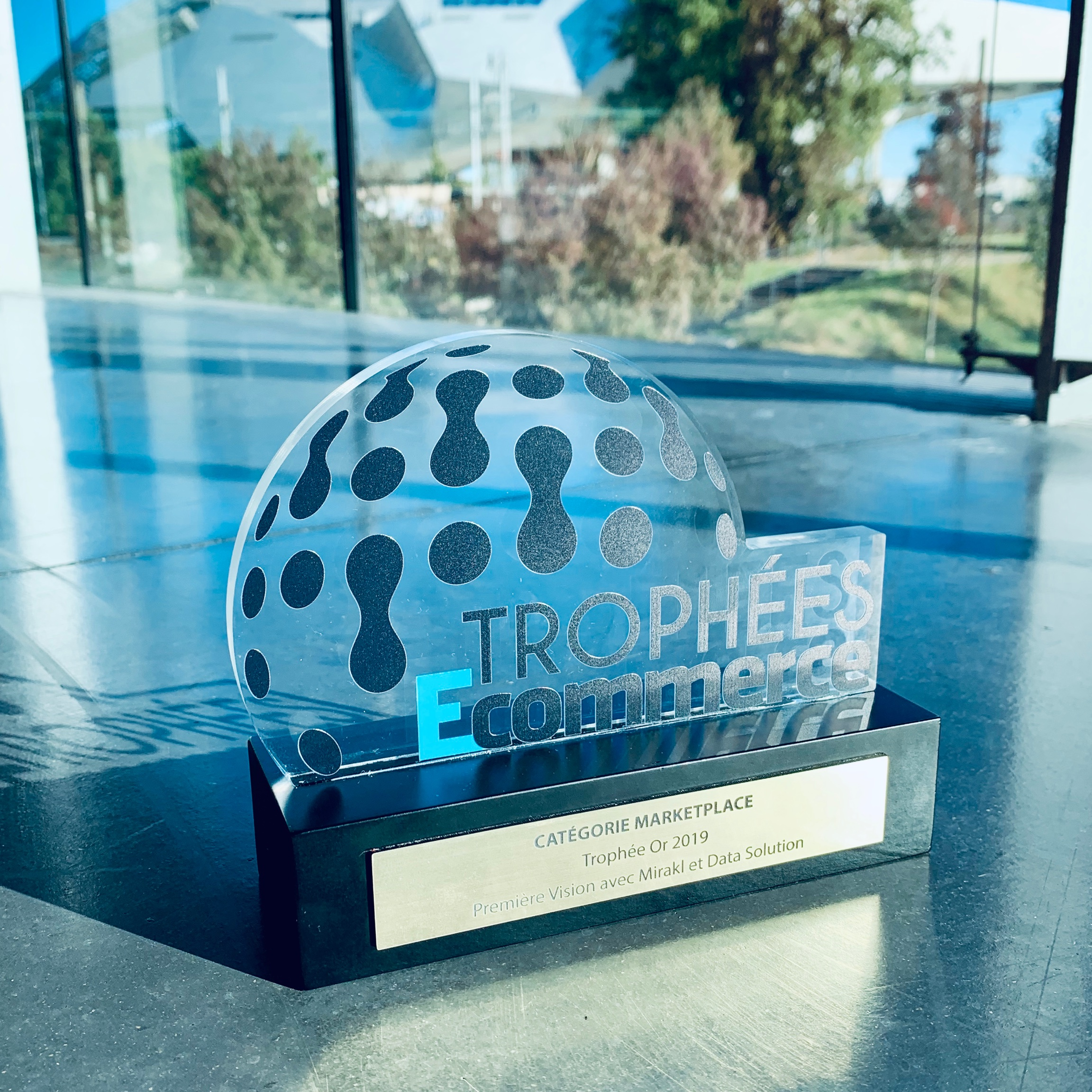 THE MARKETPLACE PREMIÈRE VISION  WINS E-COMMERCE GOLD TROPHY 2019